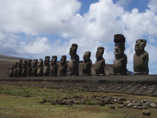 Imagen de apoyo de  Artículo Ref: 114 - Arte: ¿Qué misterios encierran los Moais de la isla de Pascua?